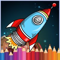 Galaxy Painting Book : Coloring Pages game