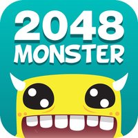 2048 Monster: Numbers Sliding Puzzle Game