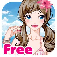 Beach Girl Free Make Up & Dress Up