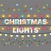 Christmas Lights Stickers