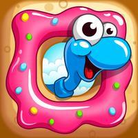 Sugar Worms - Match3 Puzzle!