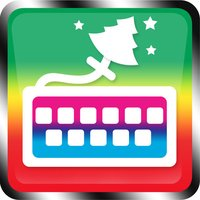 Christmas Holiday Keyboard Background Color Themes for iPhone, iPad, iPod