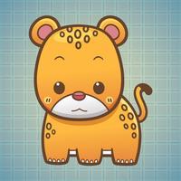 Sticker Me Cute Leopard