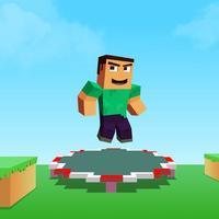 Backflip Trampoline Craft Madness: Hop Hop Hop Man Jump