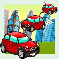 A Fun-ny Kids Game For Free With Great Driver-s in The City: Sort-ing The Car-s By Size!
