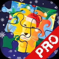Xmas Jigsaws Game: Jungle PRO