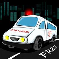 Ambulance 911 Fun Rush : The Emergency Vehicle Hurry Race - Free