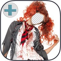 Halloween MakeOver-Place Face On Scary Images