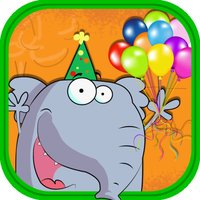 Animal Jumping Party - A See Saw Balloon Pop Challenge Free