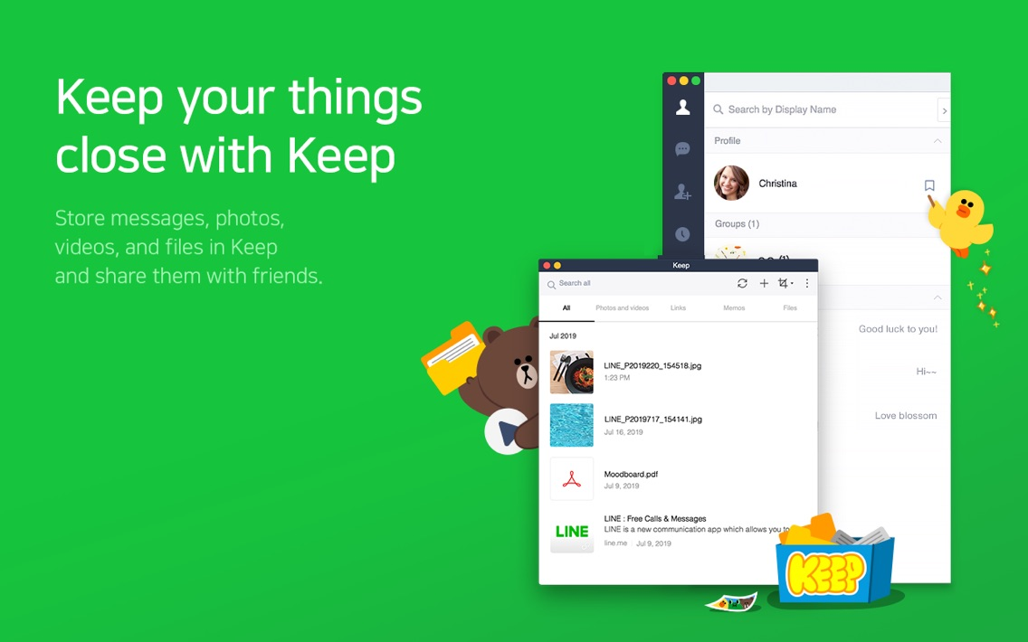 LINE App for iPhone - Free Download LINE for iPhone at AppPure