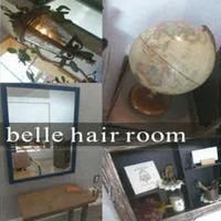 belle hair room
