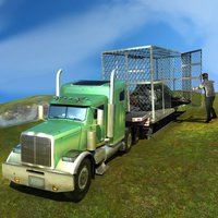 Wild African Animal Rescue Simulator: An Off-Road Transport Truck Game