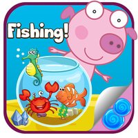 Fishing with Peppy The Pinky Pig