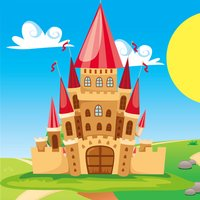 A Fairy Tale Learning Game for Children: learn with princess, wizard, knight & horse