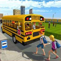 Modern City School Bus