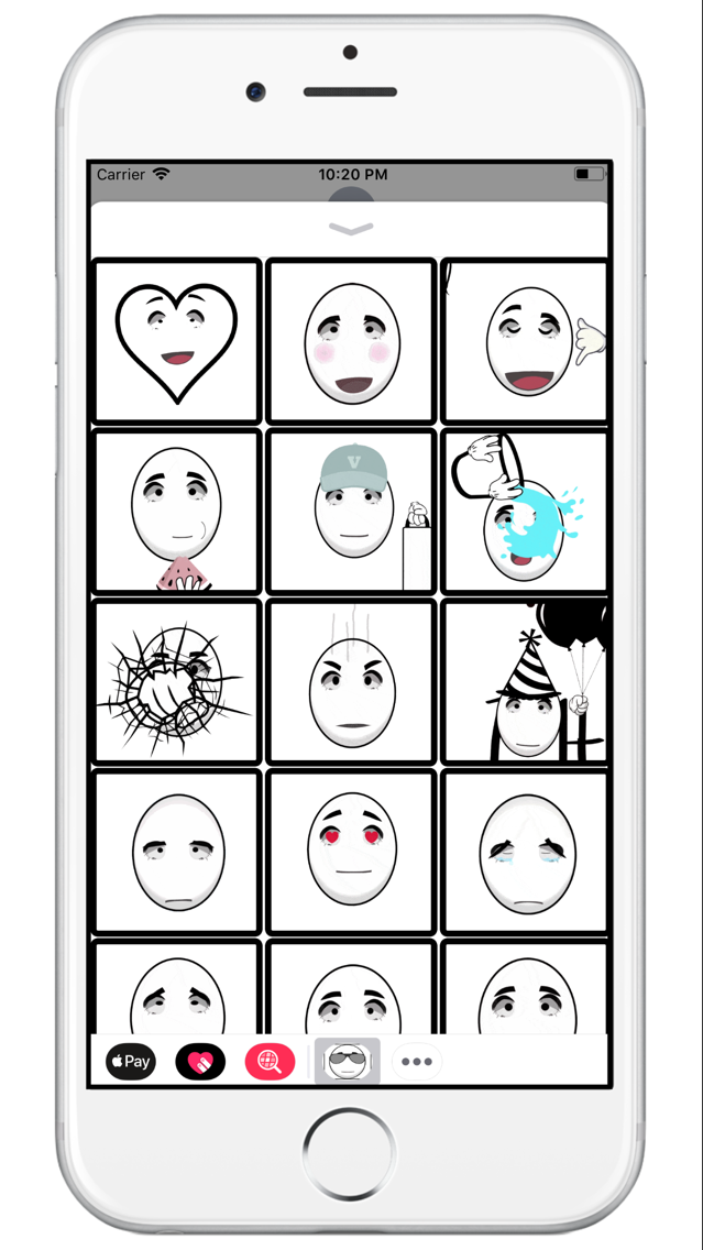 StickFace - Animated emoji App for iPhone - Free Download