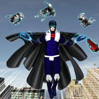 Gravity Man Superhero Mad City