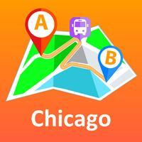 Chicago offline map & nav