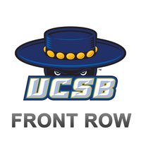 UCSB Gauchos Front Row