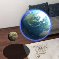 AR Solar System Planets