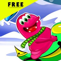 Ice Fun Free Valley : The Monster Snow Mobile Adventure - Free