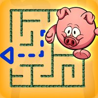 Piggy Maze Runner kids game