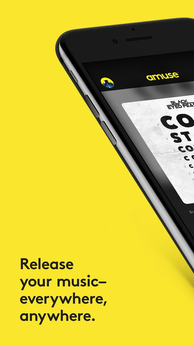 Amuse Music Distribution App for iPhone - Free Download