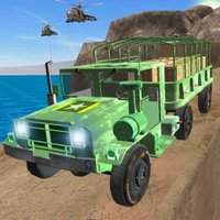 Offroad Army Truck Driver - US Military Commandos