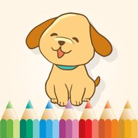Dog Coloring Book for Kids: Learn to color & draw