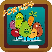 Chinese Language Learning App for Kids - Fruit vocabulary with Pinyin