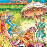Jataka Tales-The True Friends-Amar Chitra Katha