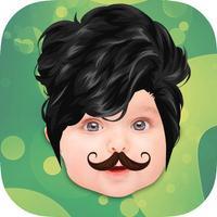 Beard & Mustache Fun Photo Morphing App