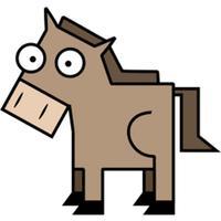 Squared Animals Sticker Pack
