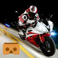 VR Bike Race Pro with Google Cardboard (VR Apps)
