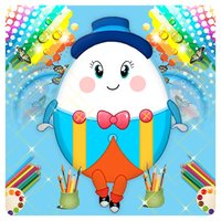 Humpty Dumpty Coloring Book For Kids