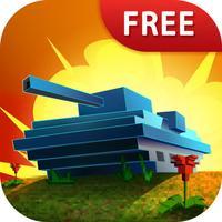 Armored Craft Tank Battle 3D