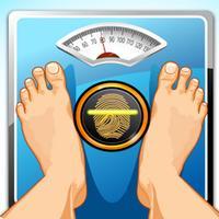 جهاز قياس الوزن عن طريق البصمة جديد للترفيه