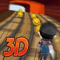 Subway Train Runner 3D - Become hipster and run this town!