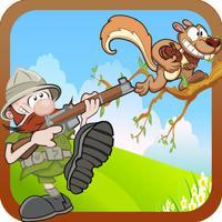 Squirrel Hunting Ranger Mania - Poop Shooting Adventure Free