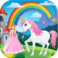 Pony Princess Fairy Coloring Book for Little Girls