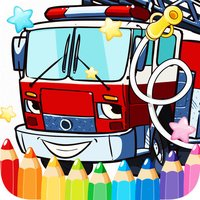 Car Fire Truck Free Printable Coloring Pages For Kids