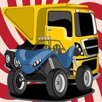 Best Fantasy Truck For Children Matching Cards Games