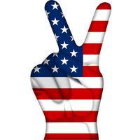 America Love Stickers