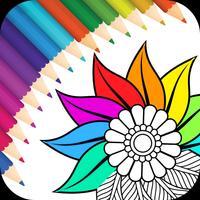 Coloring Book, Recolor Mandala