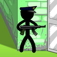 Stickman Death - Prison & Gym