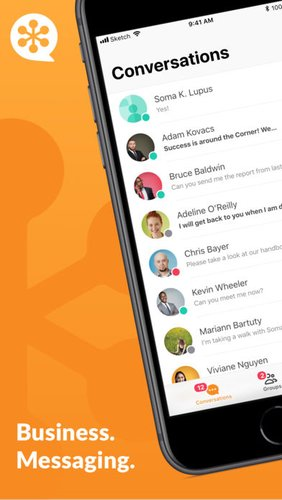 GoToMeeting Messenger App for iPhone - Free Download