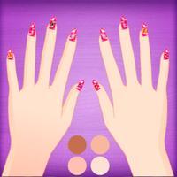 Nail salon-cute nail DIY