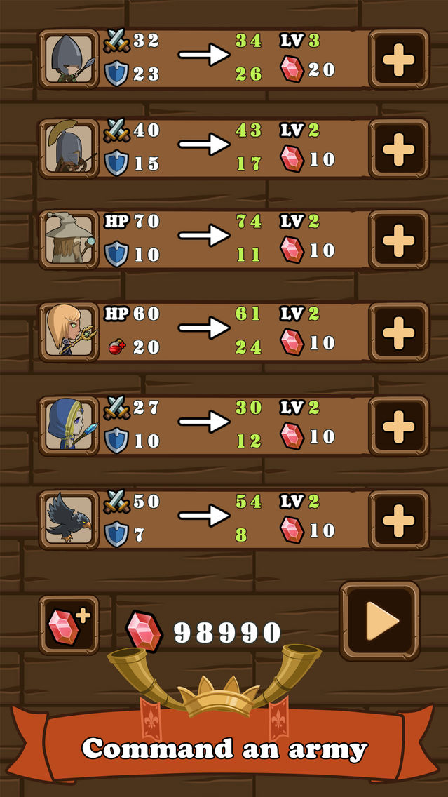 Sheep Legion - turn-based tactical RPG game App for iPhone