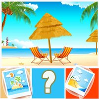 Guess the Word Quiz Guessing Beach Seaside Lovers Pro