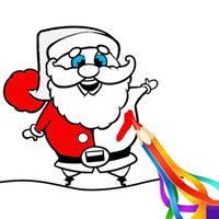 Christmas Santa Coloring Book